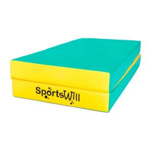 Мат SportsWill (100 х 100 х 10) скл зел
