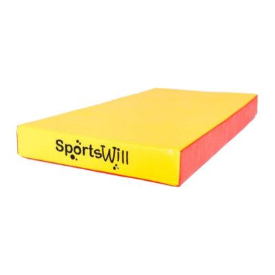 Мат SportsWill (100 х 50 х 10) красн