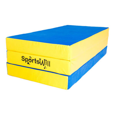 Мат SportsWill (150 х 100 х 10) скл син
