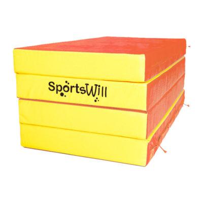 Мат SportsWill (200 х 100 х 10) скл крсн