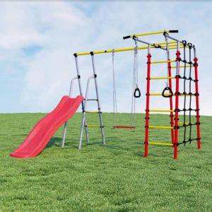 Детский спортивный комплекс для дачи ROMANA (фанерные качели)