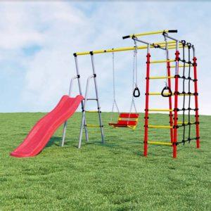 Детский спортивный комплекс для дачи ROMANA (цепные качели)