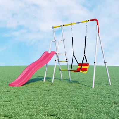 Детский спортивный комплекс для дачи ROMANA Лето (качели цепные)