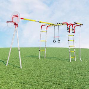 Детский спортивный комплекс для дачи –ROMANA Акробат2 (без качелей)