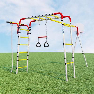 Детский спортивный комплекс для дачи –ROMANA Акробат2 (без качелей)1