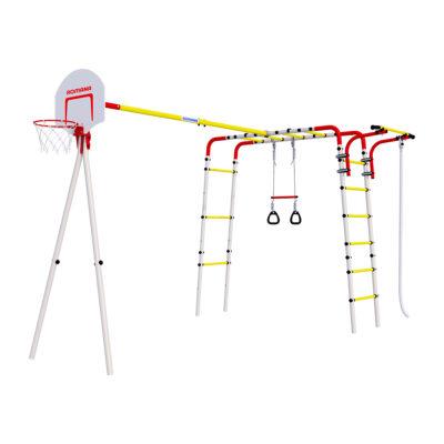 Детский спортивный комплекс для дачи –ROMANA Акробат2 (без качелей)2