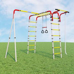 Детский спортивный комплекс для дачи ROMANA Веселая лужайка - 2 (без качелей)