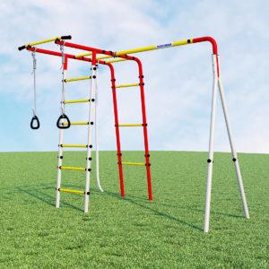 Детский спортивный комплекс для дачи ROMANA Лесная поляна - 3(без качелей)