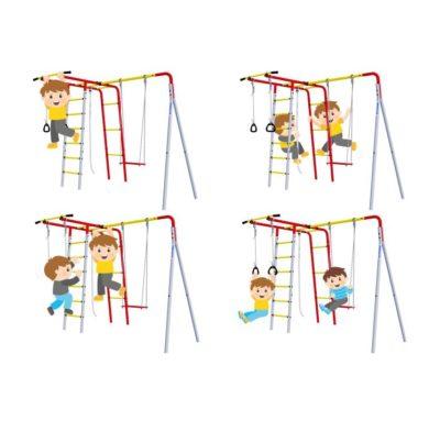 Детский спортивный комплекс для дачи ROMANA Лесная поляна - 3(без качелей)3